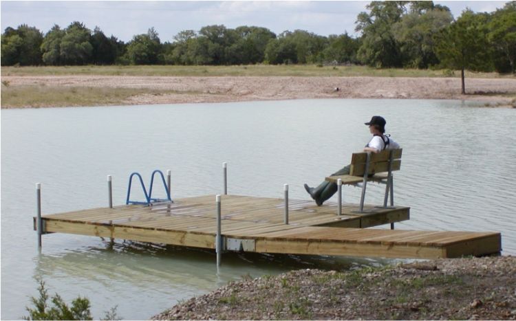 Does anyone have plans to build a floating dock approx. 20' x 12